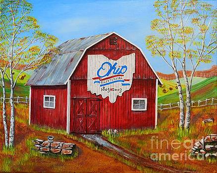 Ohio Bicentennial Barns 2 by Melvin Turner