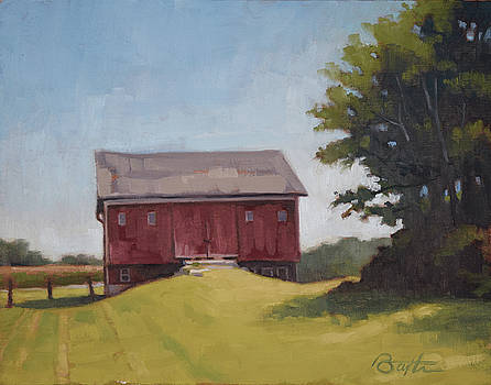 Ohio Red Barn by Todd Baxter