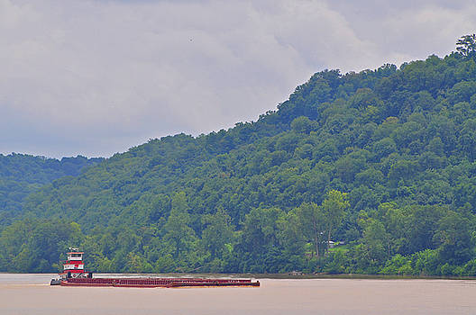 Ohio River 3 by Peter  McIntosh