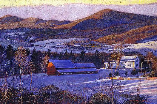 Ohio Winter Blue by David Lloyd Glover