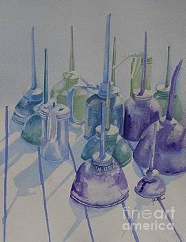 Oil Cans by Gretchen Bjornson