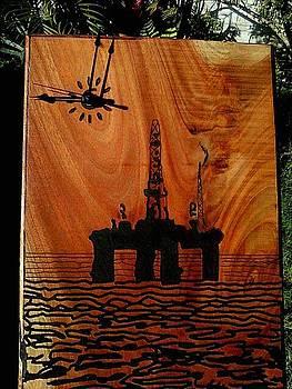 Oil Platform by Calixto Gonzalez