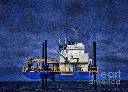 Oil Rig 2 by Dave Bosse