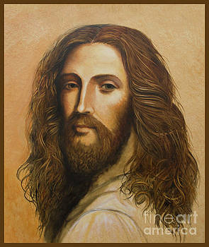Oil Sketch of Christ by Ann Chapin