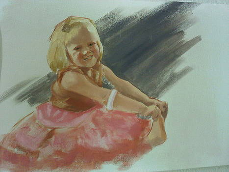 Oil Study of A Little Dancer by Rashelle  Brady