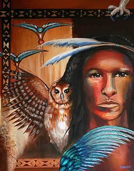 Ojibwe Bird Spirit by Kandra Orr
