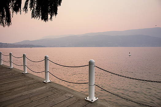 Okanagan Boardwalk by Monte Arnold