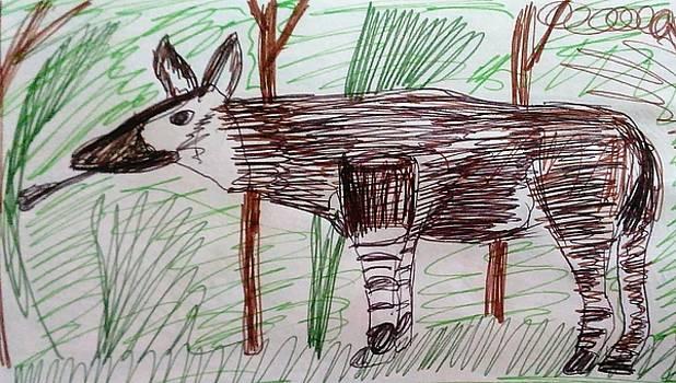 Okapi by Andrew Blitman