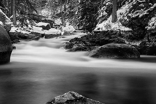 Oker, Harz - monochrome version by Andreas Levi