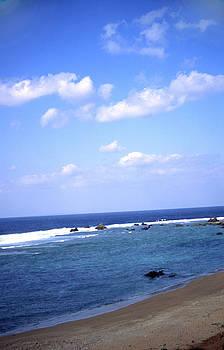 Okinawa Beach 7 by Curtis J Neeley Jr