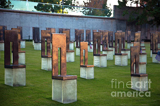 Oklahoma City Memorial Chairs by ELITE IMAGE photography By Chad McDermott