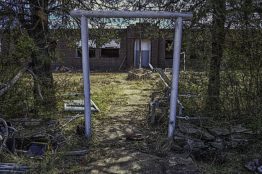 Oklahoma Forgotten School by David Longstreath