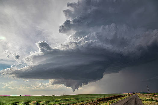 Oklahoma Panhandle Swirl by James Menzies