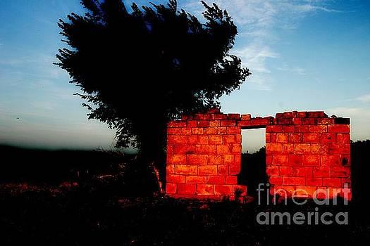Oklahoma Ruins by Patty Uldra Johnson