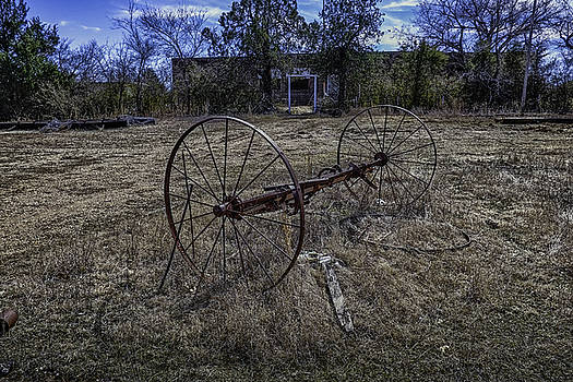 Oklahoma Rural Landscape 1 by David Longstreath