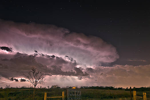 Oklahoma Sky of Fire by James Menzies