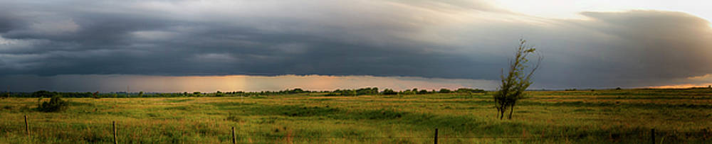 Oklahoma Storm Clouds by Debby Richards