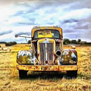 Edward Fielding - Old abandoned truck
