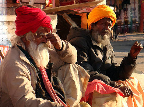 Bliss Of Art - Old age buddies