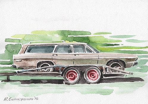Old american car by Rimzil Galimzyanov
