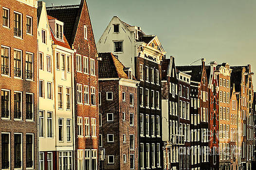 Old Amsterdam by Martin Bergsma