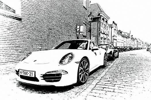 2bhappy4ever - Old and New Porsche in Heusden