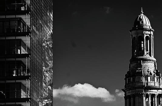 Old And New With A Cloud Inbetween by Paul Jarrett