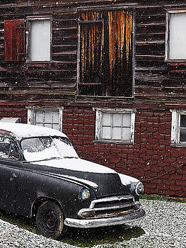 Old And Snow by Ron Dubin