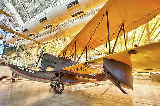 Old Army Biplane by Lara Ellis