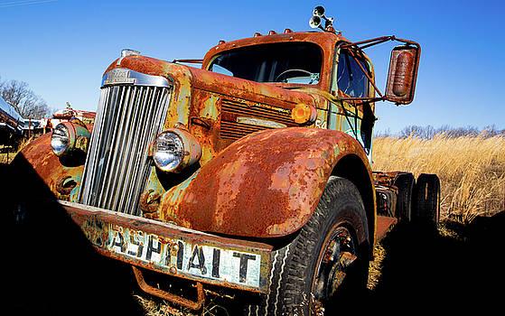 Mike Shaw - Old Asphalt Truck