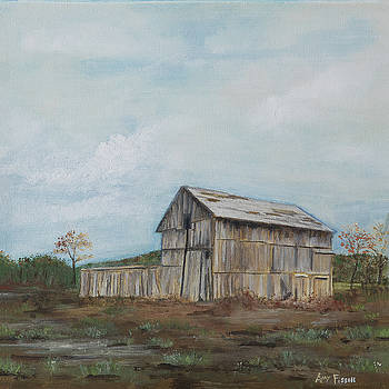 Old Barn by Amy Fissell