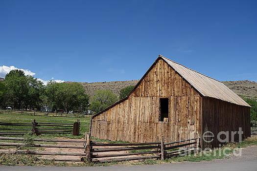 Old Barn by C Lythgo