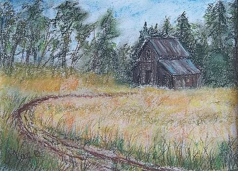 Old Barn by Joan Mace