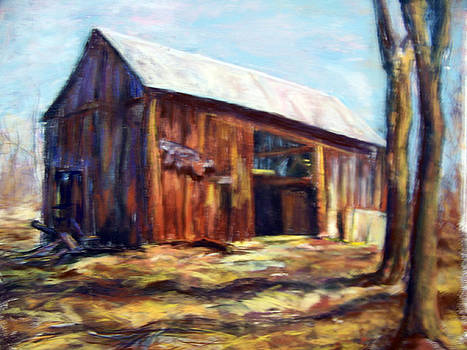 Old Barn by Joan Wulff