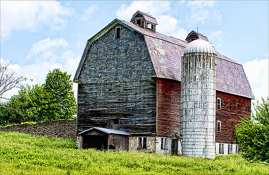 Old Barn by Pat Carosone