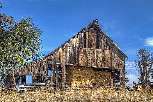 Bruce Bottomley - Old Barn with Hay