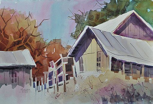 Old Barns by Spencer Meagher