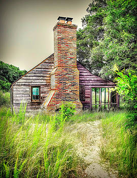 Old Beach House by Roger McBee