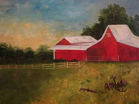 Old Big Red by Shiana Canatella