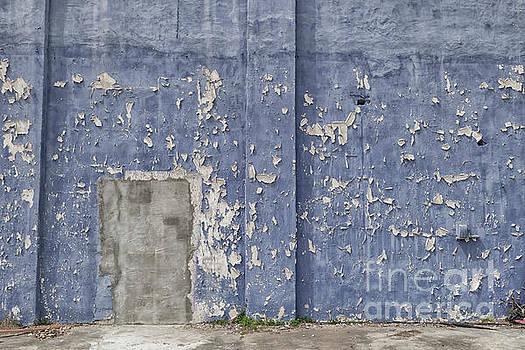 Patricia Hofmeester - Old blue building