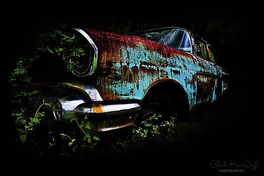 Old Blue Chevy by Glenda Wright