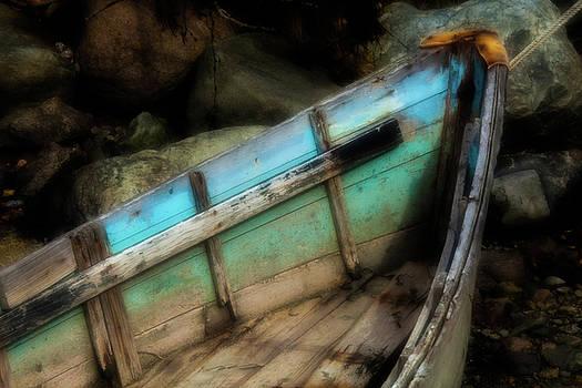 Old Boat 1 Stonington maine by David Smith