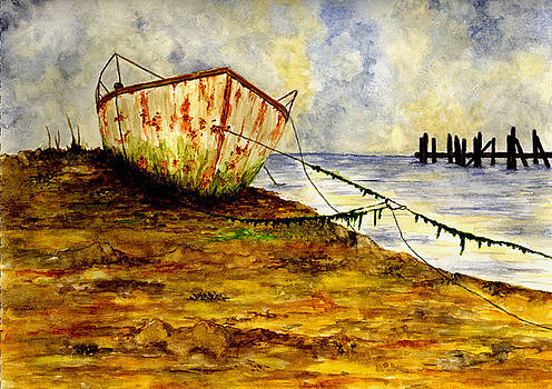Old Boat by Michael Vigliotti