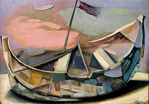 Old Boat by Vakho Kakulia