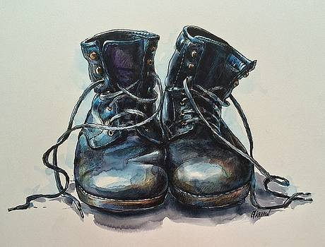 Old Boots by Christine Karron