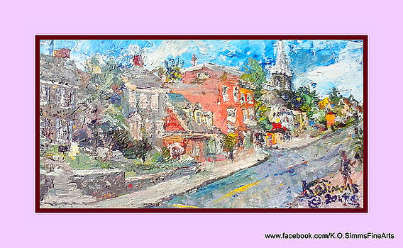 Old Brandywine Village by Keith OBrien Simms