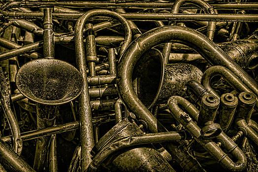 Dave Gordon - Old Brass Musical Instruments