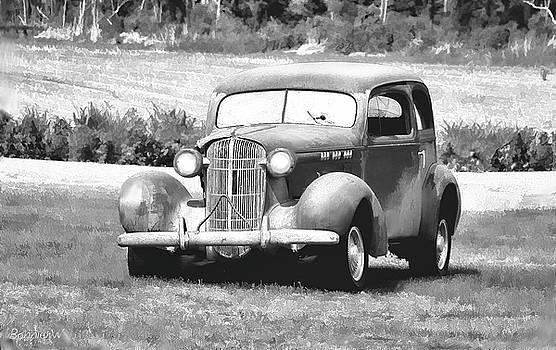 Vintage  Buick by Bonnie Willis