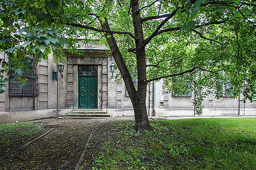 Old Building Exterior by Teemu Tretjakov