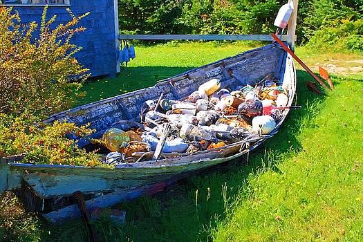 Old Buoys by John Ellis